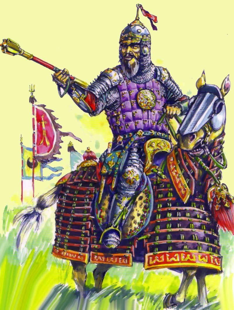[INSPIRATION] Les Mongols , Tamerlan , Babur Turcom10