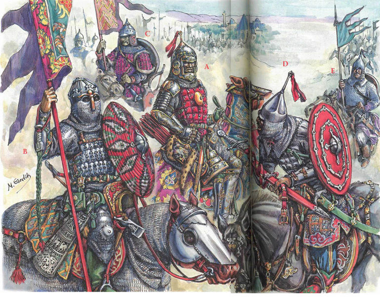 [INSPIRATION] Les Mongols , Tamerlan , Babur Turcom11