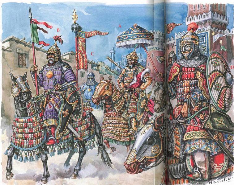 [INSPIRATION] Les Mongols , Tamerlan , Babur Turcom12