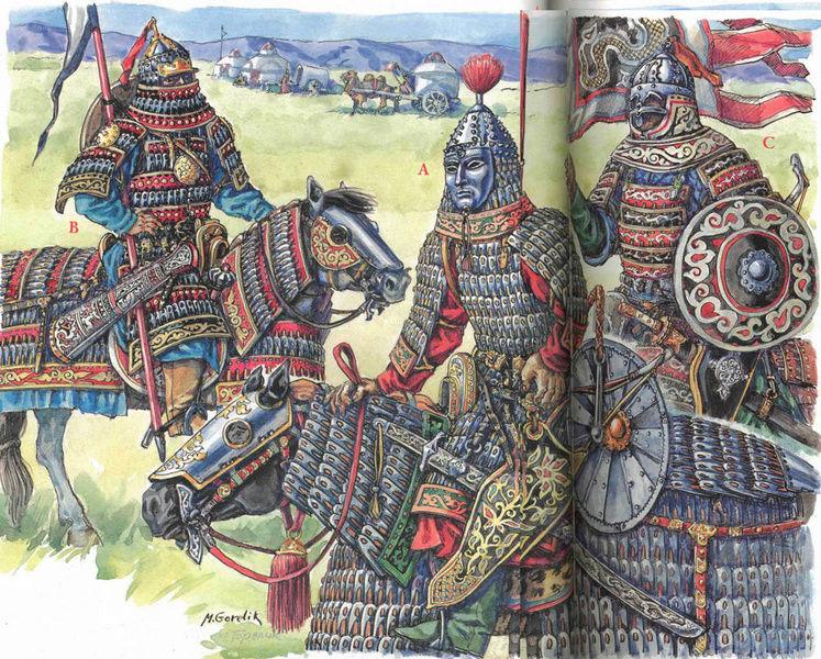 [INSPIRATION] Les Mongols , Tamerlan , Babur Turcom13