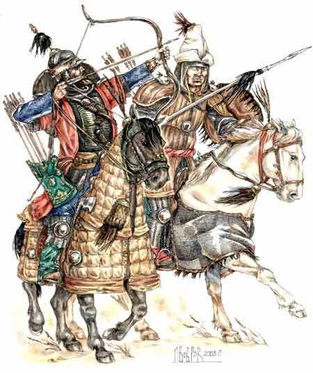 [INSPIRATION] Les Mongols , Tamerlan , Babur Turkes10