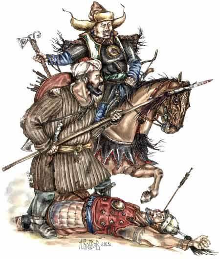 [INSPIRATION] Les Mongols , Tamerlan , Babur Turkes12