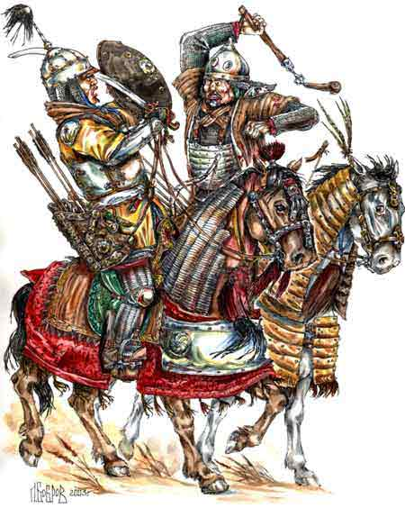 [INSPIRATION] Les Mongols , Tamerlan , Babur Turkes13