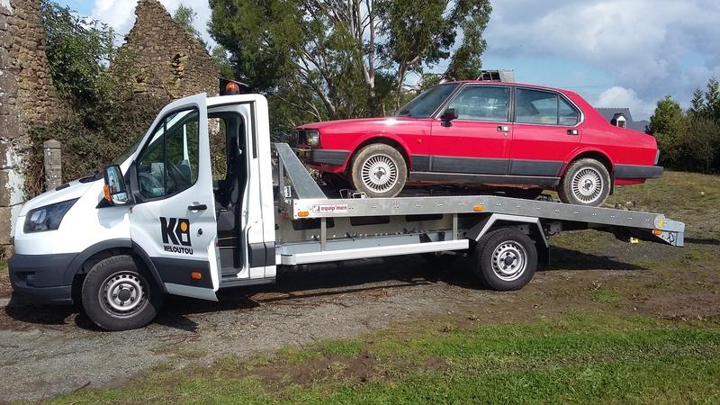 Alfetta berline 2.0 1984, de retour sur la route en 2018 20170910