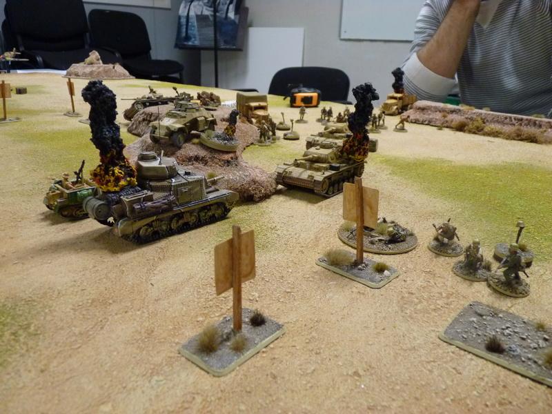 Campagne Afrique du Nord 1942 Tank War (1) P1060632