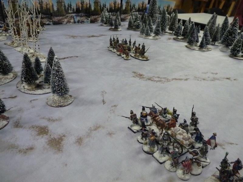 La Mort Blanche (règle d'escarmouche pendant la Retraite de Russie) P1060724