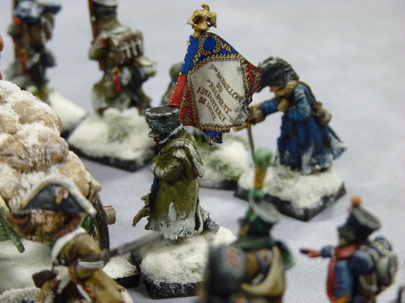 La Mort Blanche (règle d'escarmouche pendant la Retraite de Russie) P1060725
