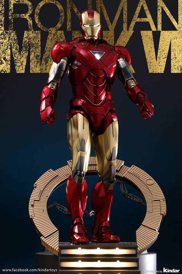 AVENGERS - IRON MAN MARK VI (MMS385DC17) 26113810