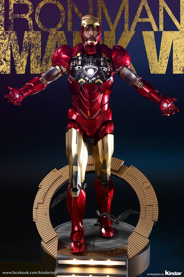 AVENGERS - IRON MAN MARK VI (MMS385DC17) 26114010