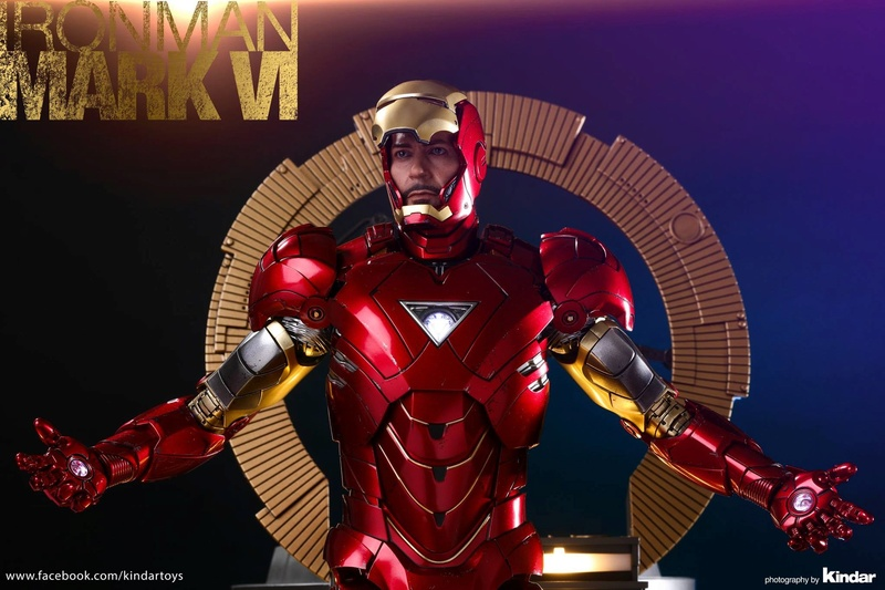 AVENGERS - IRON MAN MARK VI (MMS385DC17) 26232010