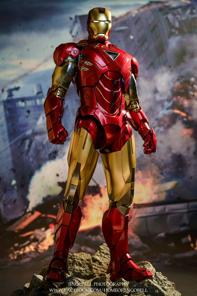 AVENGERS - IRON MAN MARK VI (MMS385DC17) Jh10