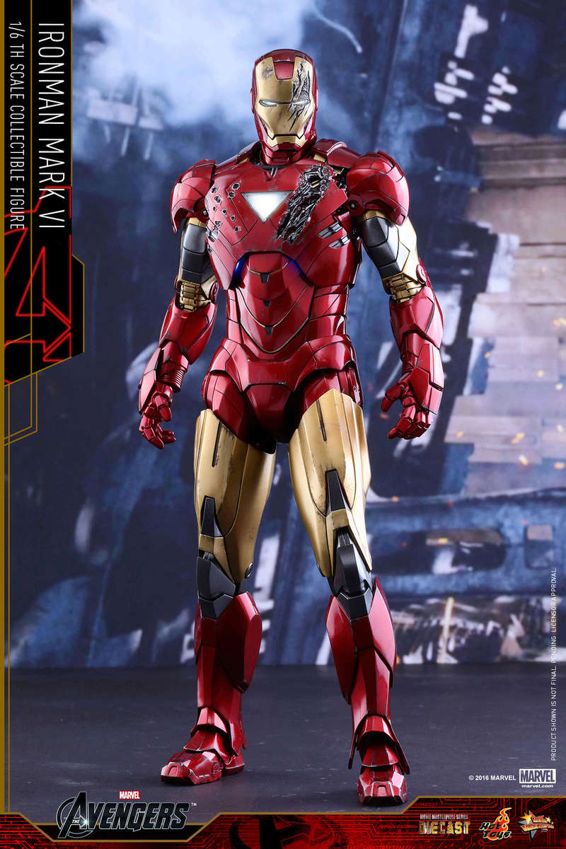 AVENGERS - IRON MAN MARK VI (MMS385DC17) Up_1010