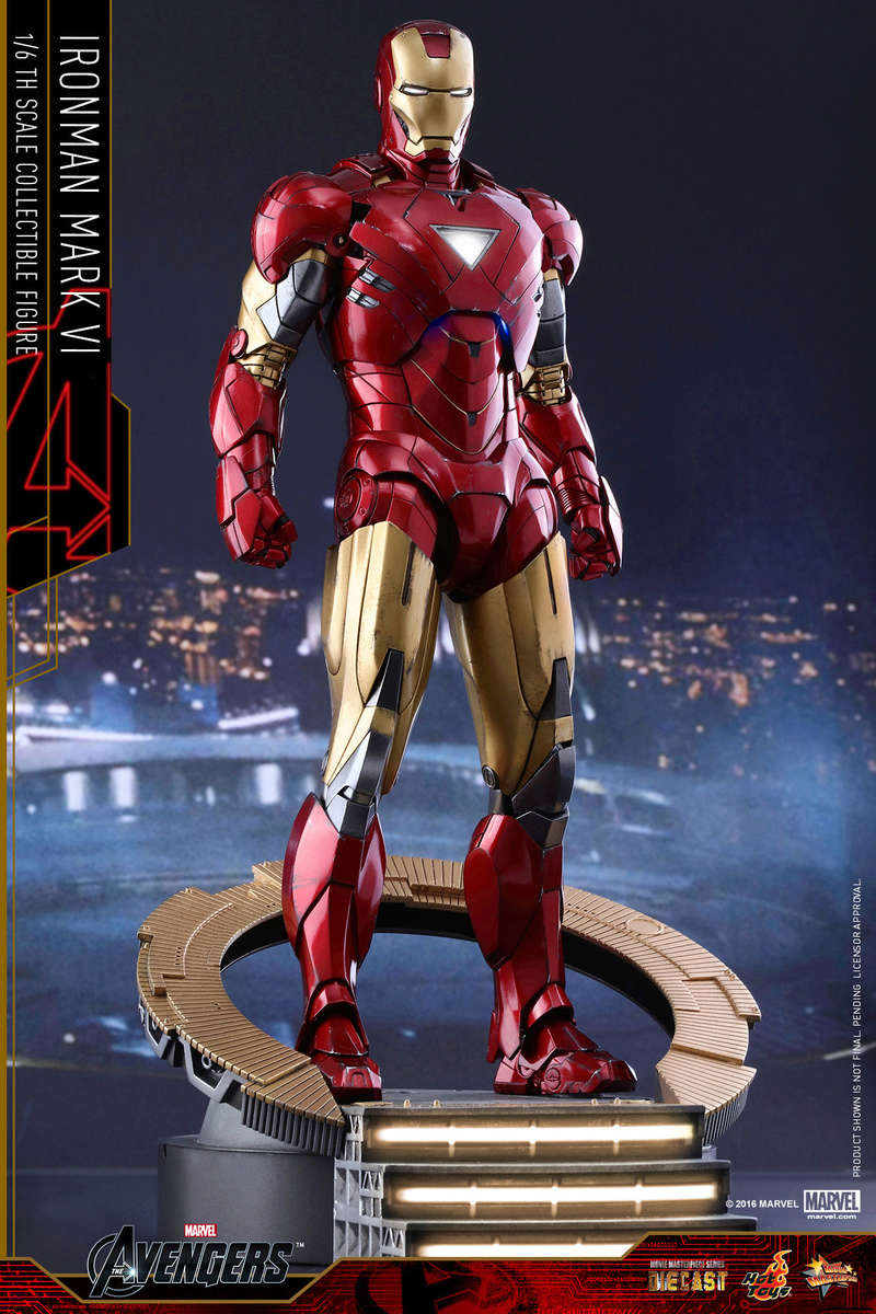 AVENGERS - IRON MAN MARK VI (MMS385DC17) Up_110