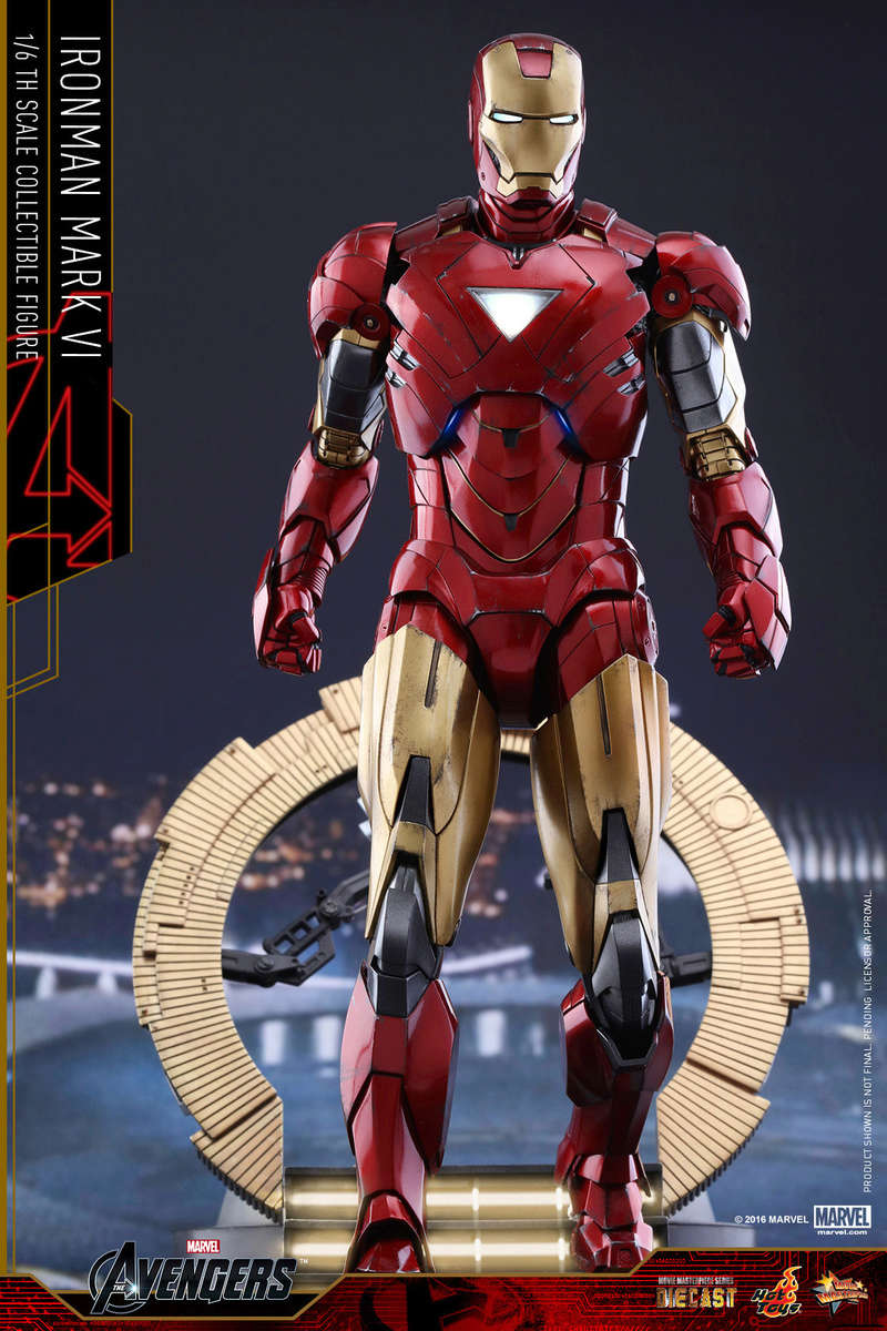 AVENGERS - IRON MAN MARK VI (MMS385DC17) Up_210