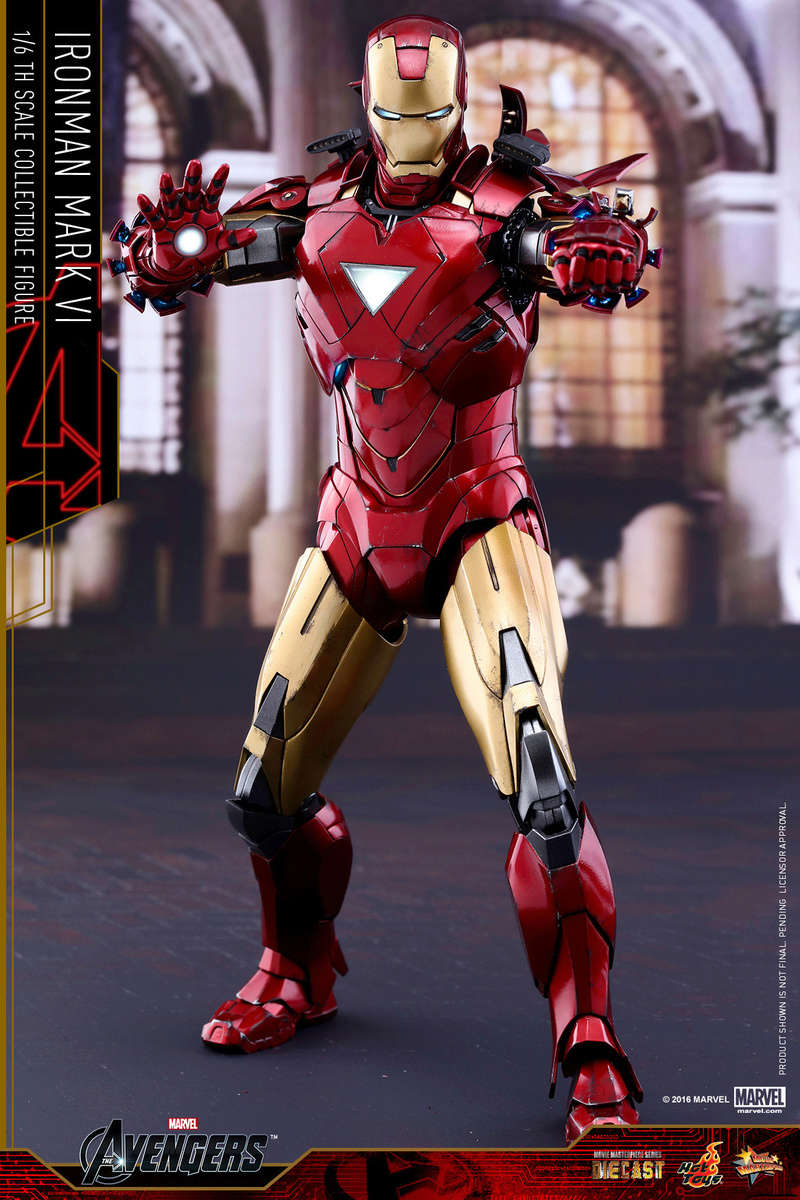 AVENGERS - IRON MAN MARK VI (MMS385DC17) Up_510