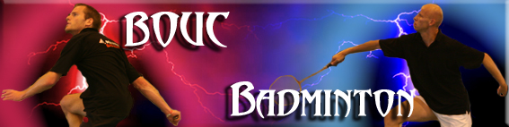 Forum officiel du Bouc Badminton