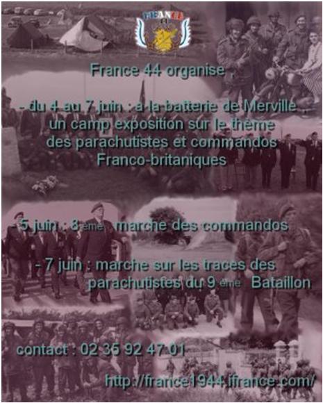 Le 6 juin en Normandie avec France 44 Mervil10