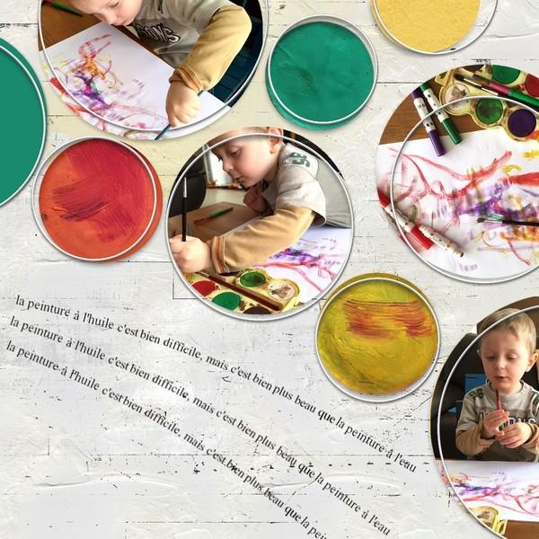 2018-13 / Challenge invités / Faire des ronds Peintu11