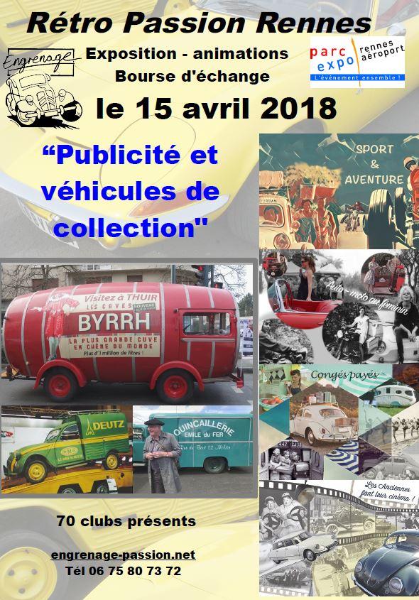 Rétro Salon de Rennes le dimanche 15 avril  77005610