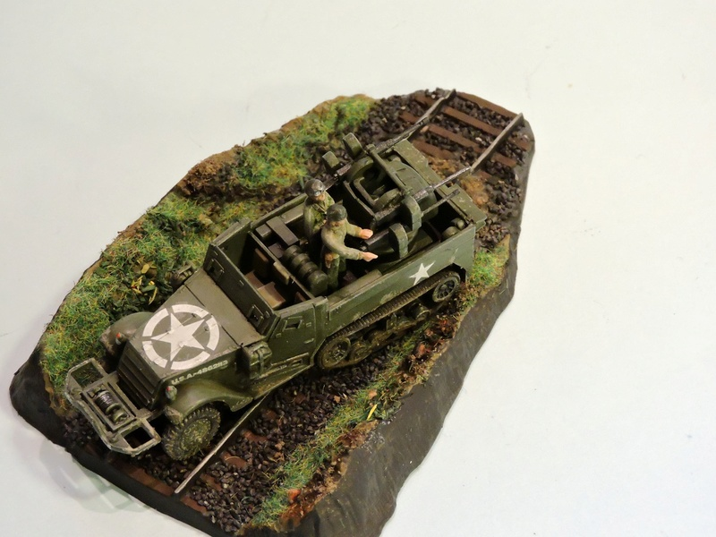 U.S. Multiple Gun Motor Carriage M16 1/35 Tamiya  FINI !!!!!!!! Halftr35