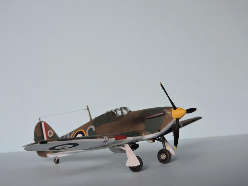 [airfix] Hawker hurricane MKI Hawker10