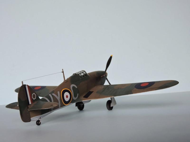 [airfix] Hawker hurricane MKI Hawker13