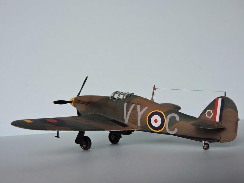 [airfix] Hawker hurricane MKI Hawker14