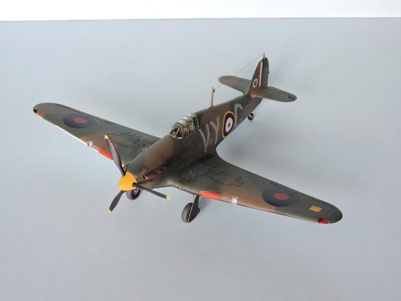 [airfix] Hawker hurricane MKI Hawker16