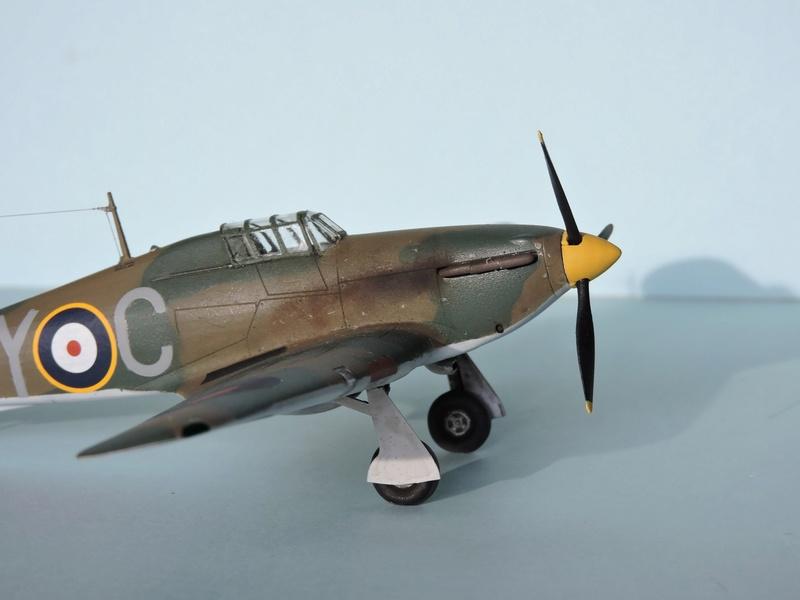 [airfix] Hawker hurricane MKI Hawker17