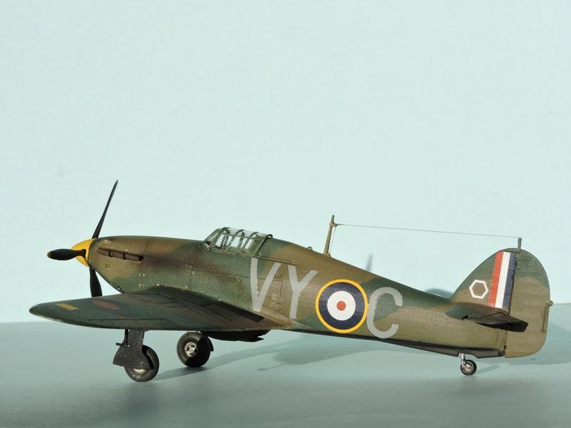 [airfix] Hawker hurricane MKI Hawker18