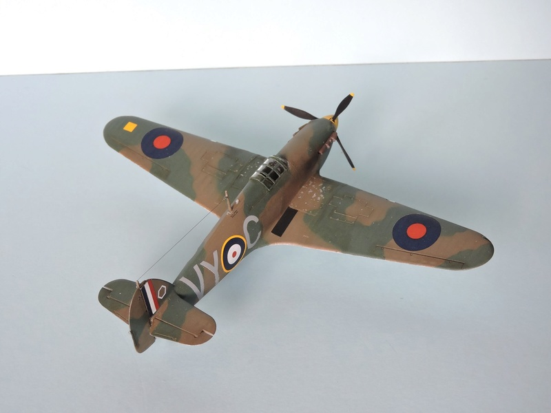 [airfix] Hawker hurricane MKI Hawker19