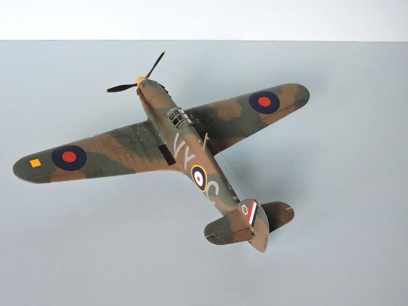 [airfix] Hawker hurricane MKI Hawker20