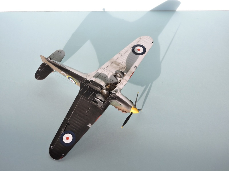 [airfix] Hawker hurricane MKI Hawker22
