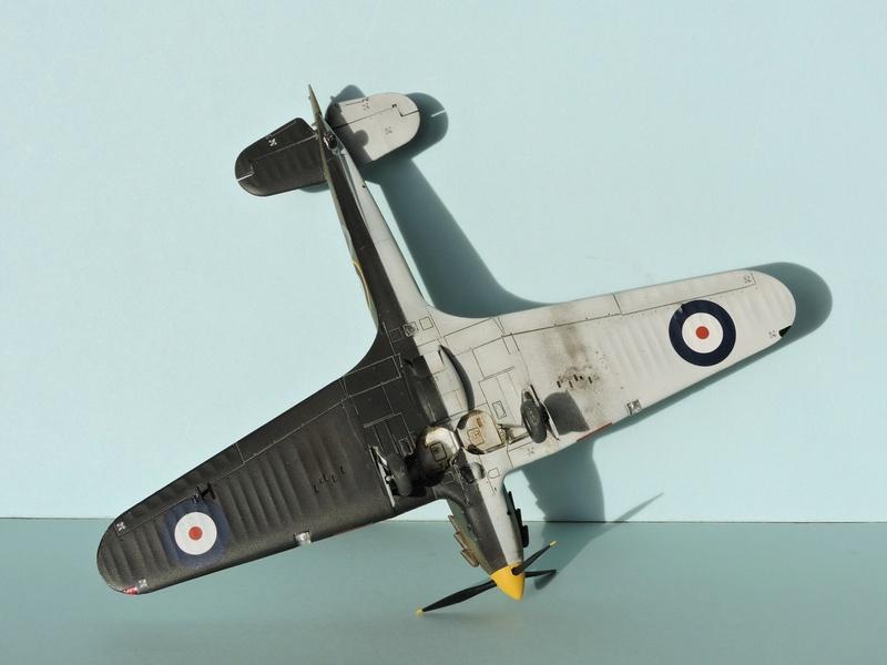 [airfix] Hawker hurricane MKI Hawker23