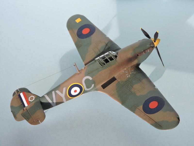 [airfix] Hawker hurricane MKI Hawker24