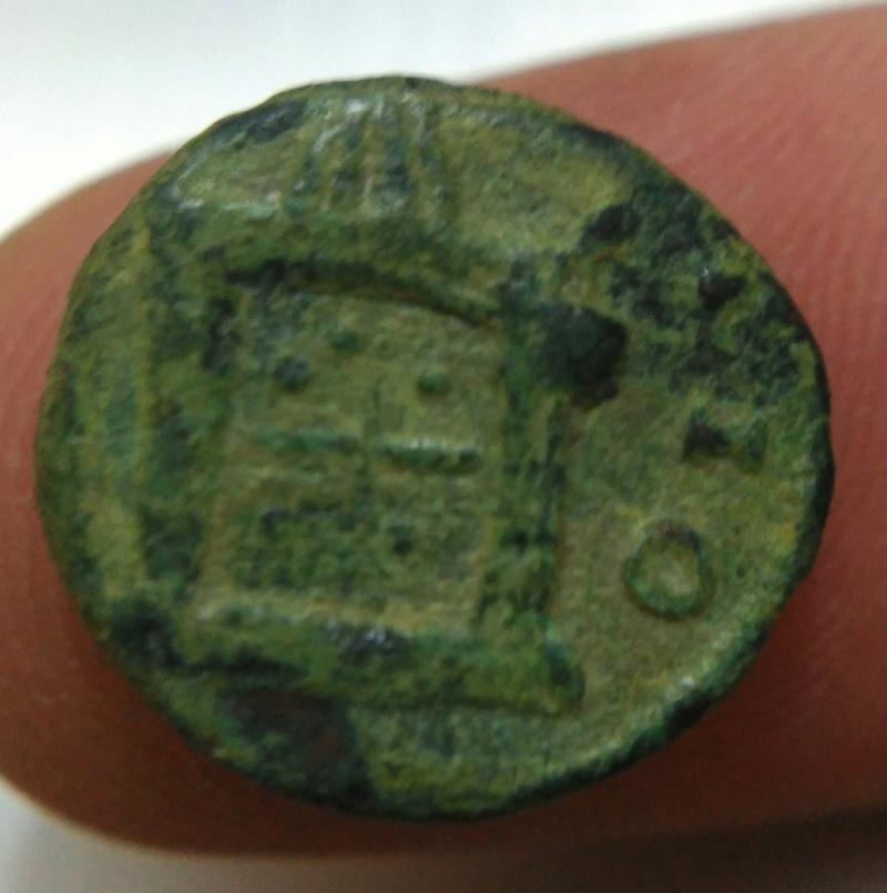 Antoniniano de Claudio II. CONSECRATIO. Altar. Img_2021
