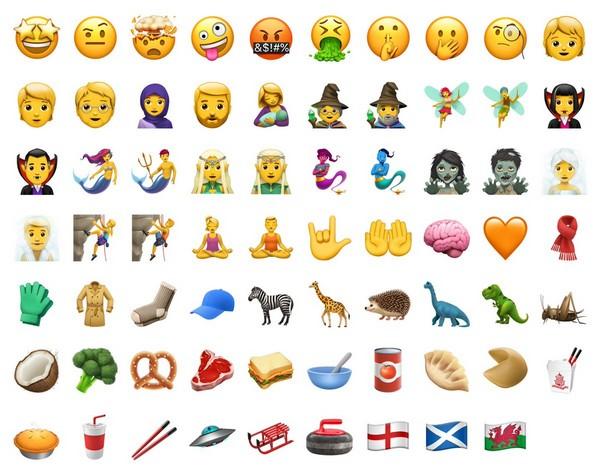 iOS 11.1 est disponible pour iPhone, iPad, iPod. Emoji10