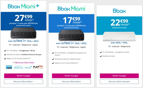 Bouygues Telecom affiche enfin ses tarifs avec la location de la box incluse Tarifb10