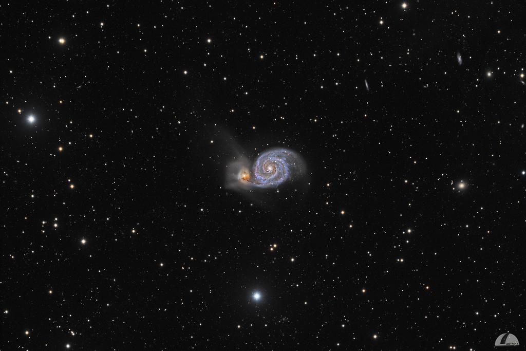 M51 à la lunette 102/700 M51_fu10