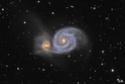 M51 à la lunette 102/700 M51_fu11
