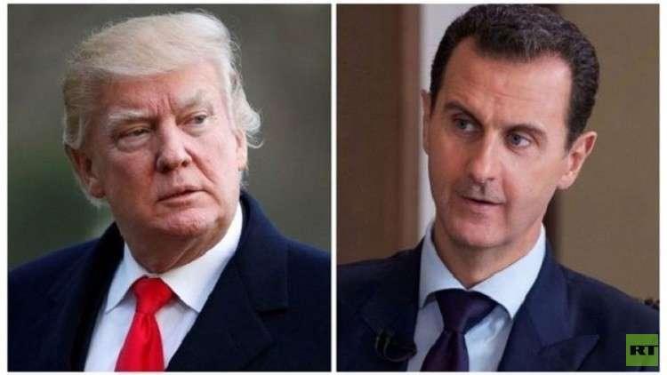 الأسد يرد على إهانة ترامب 5af3f710