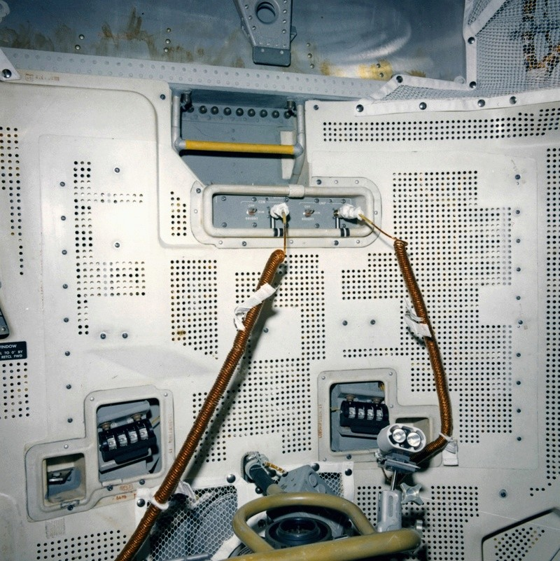 L'empreinte du premier pas sur la Lune Lm10-c10