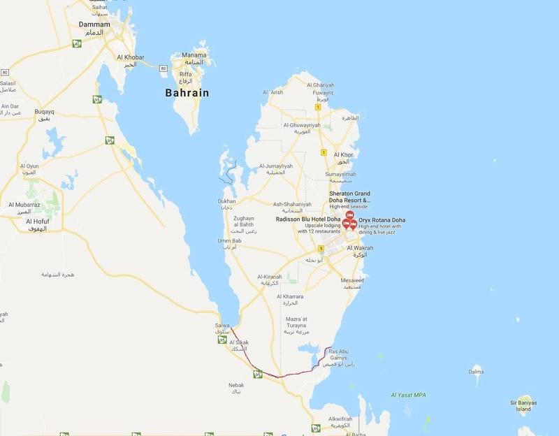 السعودية تدرس مشروعا ضخما لقناة بحرية ستحول قطر إلى جزيرة! 5ac67c11