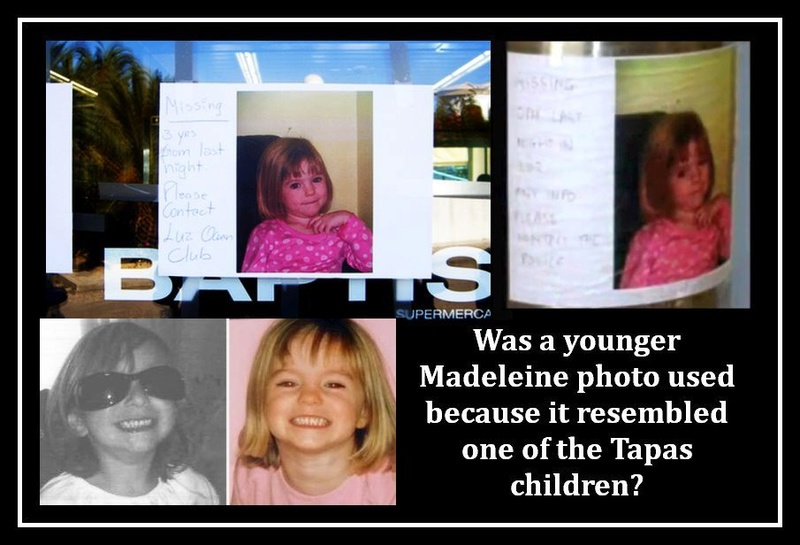 Why release an old photo of Madeleine?/How did it get printed?? Youger13