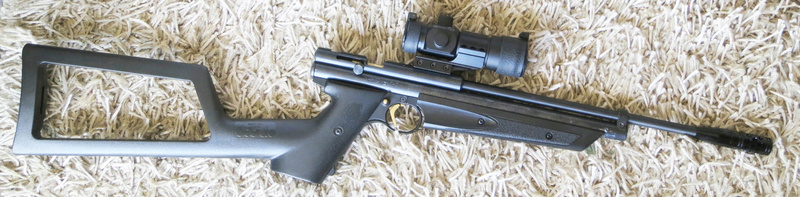 Crosman 1377, mon sniper courte distance 132210