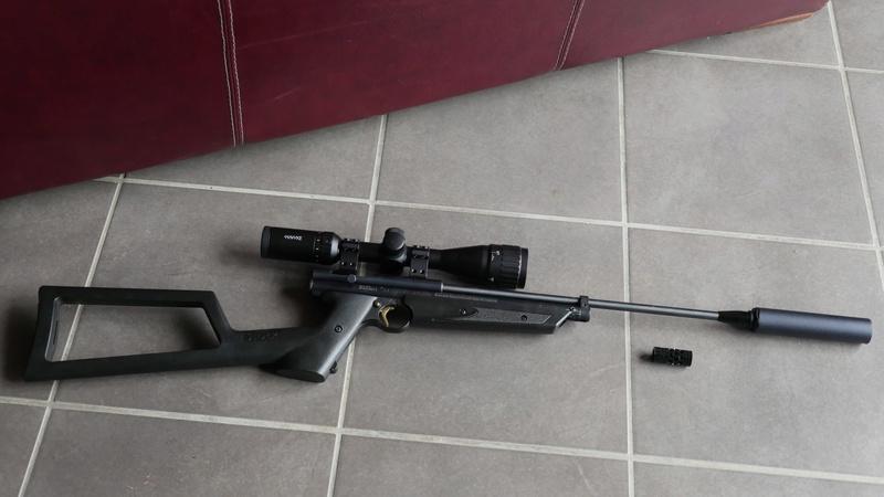 Crosman 1377, mon sniper courte distance P1490010