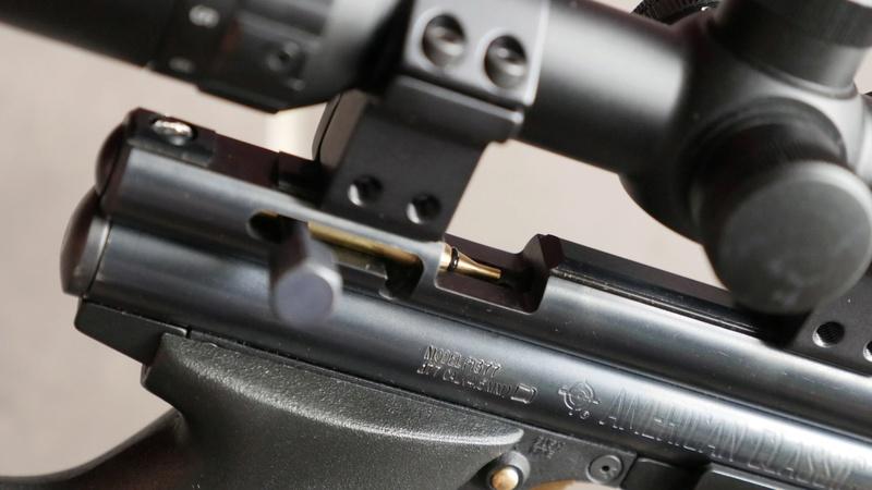 Crosman 1377, mon sniper courte distance P1490011