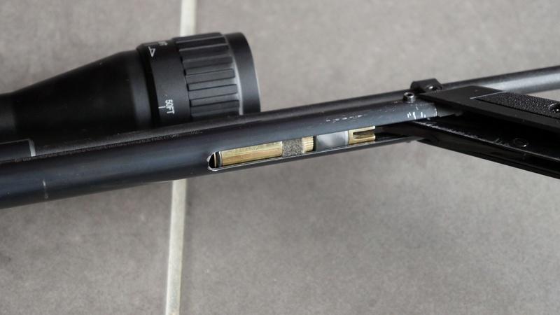 Crosman 1377, mon sniper courte distance P1490012