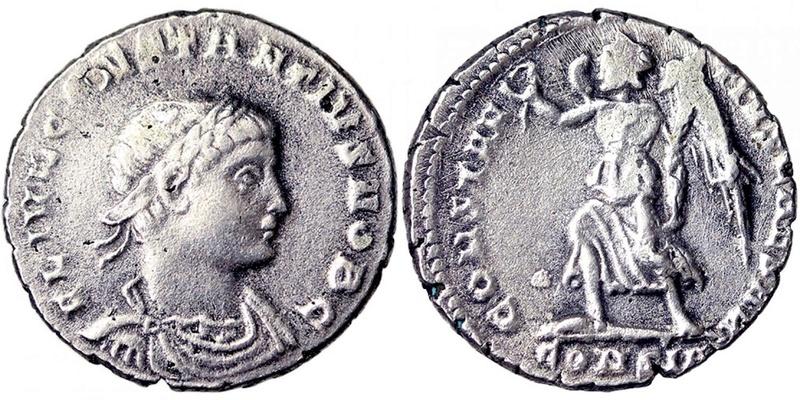 Faux moderne, silique de Constance II 6706910