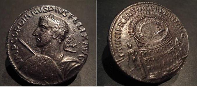 monnaie de plomb Gordia10